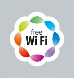 Logo wi fi 2 vector