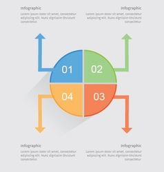 New simple infographics vector
