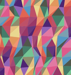 Colorful triangle geometric pattern vector