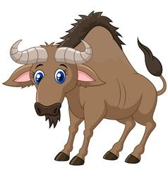 a Wildebeest vector image