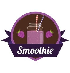 Smoothie icons design vector