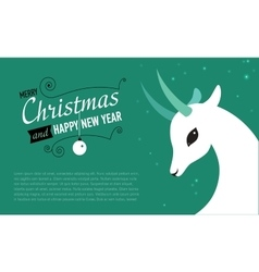 Christmas and new year card for 2015 year vector