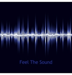 Music background sound wave audio wave vector
