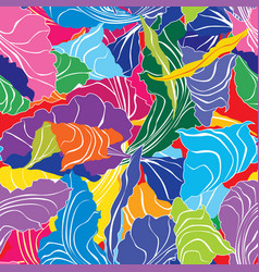 Petal texture floral background abstract swirl vector