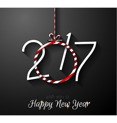 2017 happy new year background for your seasonal vector