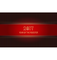 luxurious card template vector image