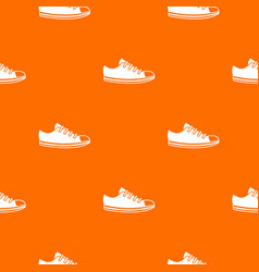 canvas sneaker pattern seamless vector image