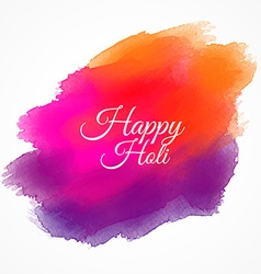 Happy holi colorful paint vector