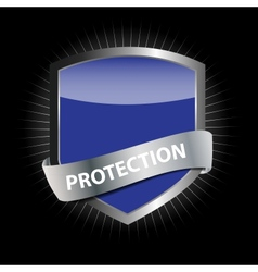 Protect shield vector