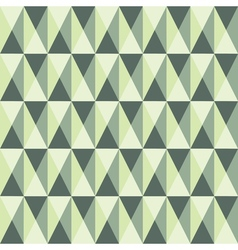 Seamless pattern with squares and triangles vector