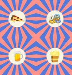 Food and drink theme vector
