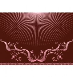 background pink2 vector image vector image