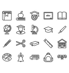 Education Icon vector image vector image