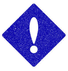 error icon grunge watermark vector image