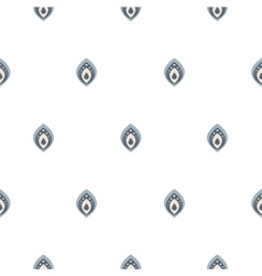 Small drops on white seamless pattern vector image vector image