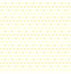 Yellow heart pattern seamless vector