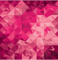 Pattern of geometric shapes vector