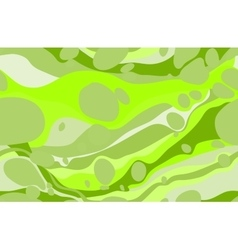 Green seamless ebru pattern vector
