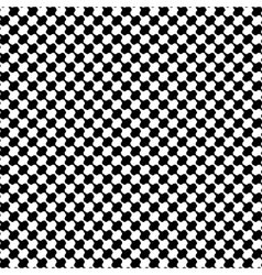 Black and white distort checkered abstract vector image