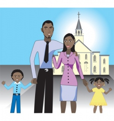 Family church vector