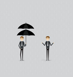 protection or insurance conceptdifference and vector image