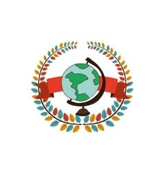 School globe world vector