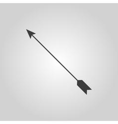 The arrow icon arrow symbol flat vector