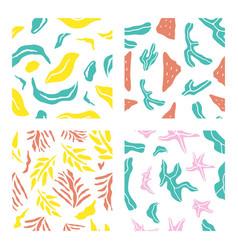 Tropical seamsless pattern bundle 1 vector