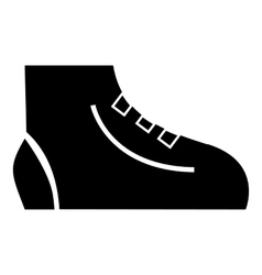 Men sport sneakers icon simple style vector