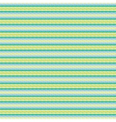 Aqua blue geometric striped hipster pattern vector image vector image