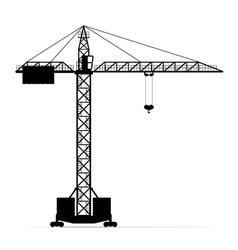 Building crane 05 vector