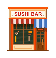 Cafe flat icon vector