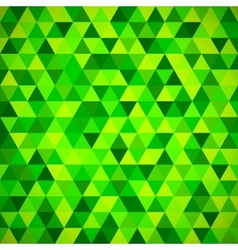 Geometric mosaic pattern from blue triangle vector image