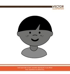 Happy kids design vector