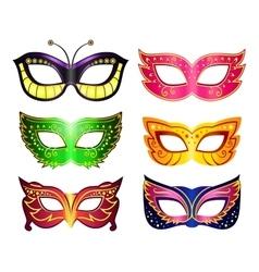 Masquerade masks vector image vector image