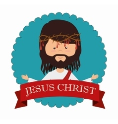 Jesus christ design vector