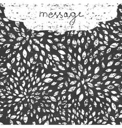 Abstract grunge chalk bursts blackboard horizontal vector