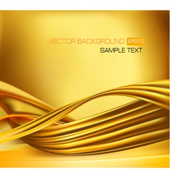 abstract yellow neon background vector image vector image