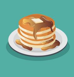 Dessert muffin sweet icon vector