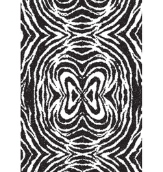 Halftone dots zebra texture Animal background vector image vector image