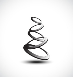 Rings icon vector image vector image