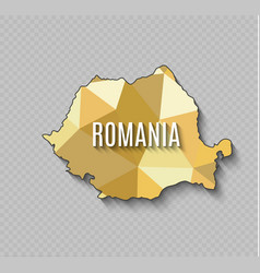 Romania world map world geography vector