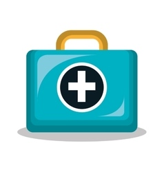 kit medical isolated icon design vector image vector image