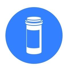 Medicines icon black single medicine icon from vector