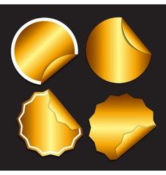 Sale Sticker Banner Template Set vector image vector image