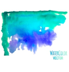 Watercolor background for textures vector image vector image