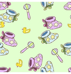 New born pattern vector