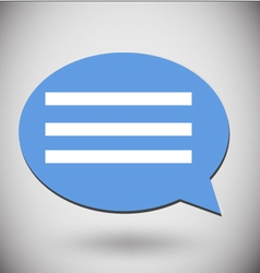 Icon message vector
