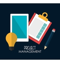 Business project management vector