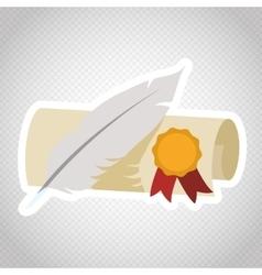 Education icon design vector